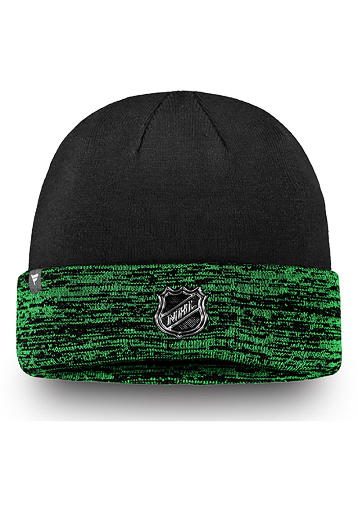 Dallas Stars Green Authentic Pro Rinkside Cuffed Mens Knit Hat - Image 2