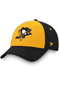 Pittsburgh Penguins Iconic 2T Flex Hat - Black