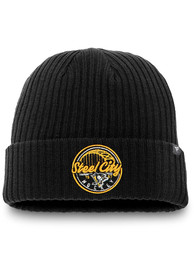 Pittsburgh Penguins Hometown Cuff Knit Knit - Black