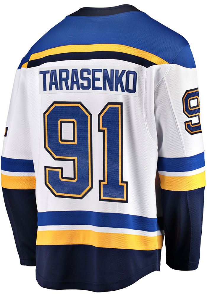 detailed look 293b1 925f8 Vladimir Tarasenko St Louis Blues Mens White 2019 Away Hockey Jersey
