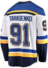 detailed look aa0e3 d3a13 Vladimir Tarasenko St Louis Blues Mens White 2019 Away Hockey Jersey