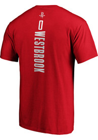 Russell Westbrook Houston Rockets Playmaker T-Shirt - Red