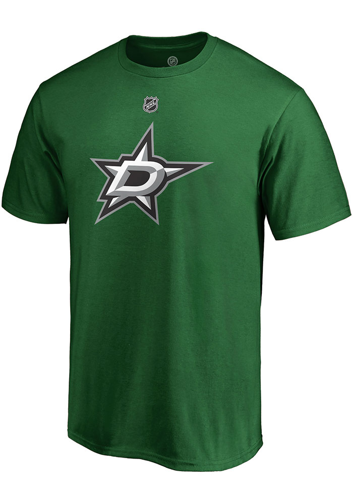 Tyler Seguin Dallas Stars Green Authentic Stack Short Sleeve Player T Shirt - Image 2