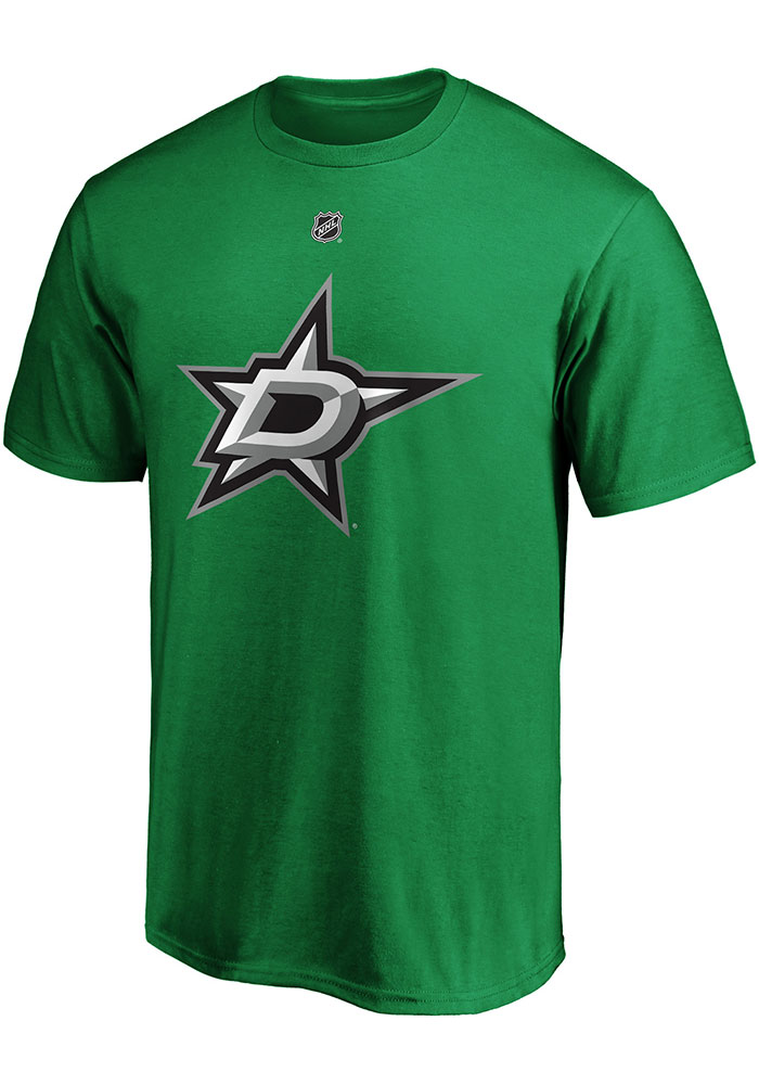 Dallas Stars Green Authentic Stack Short Sleeve Player T Shirt - Image 2