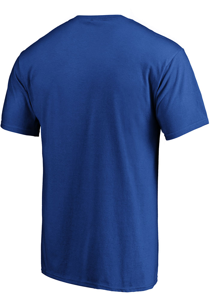 St Louis Blues Blue City Abbreviation Short Sleeve T Shirt - Image 2