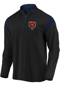 Chicago Bears Defender 1/4 Zip Pullover - Black