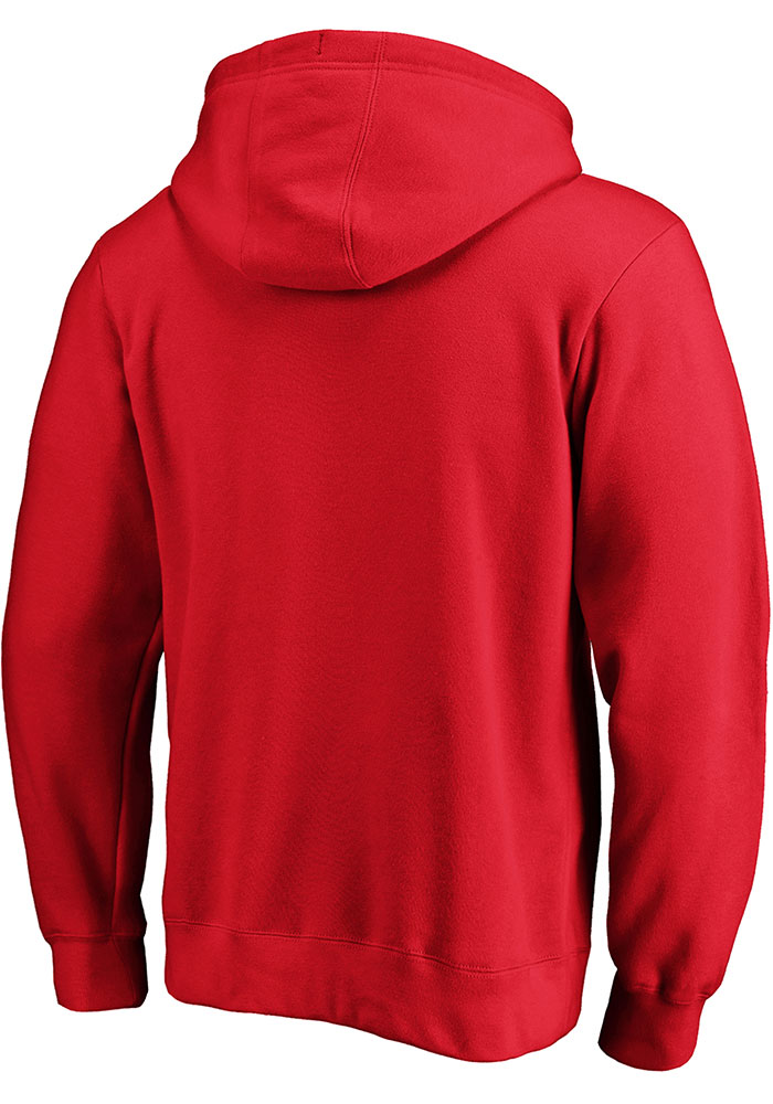 Kansas City Chiefs Mens Red Tek Patch Long Sleeve Hoodie - Image 2