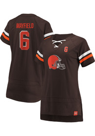 Baker Mayfield Cleveland Browns Womens Athena Name and Number Fashion Football - Brown