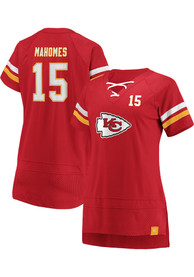 various colors 2e753 db3ea Patrick Mahomes Kansas City Chiefs Womens Athena Name and Number Fashion  Football Jersey - Red