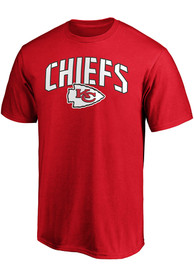 Kansas City Chiefs Primary Logo Cotton T Shirt - Red