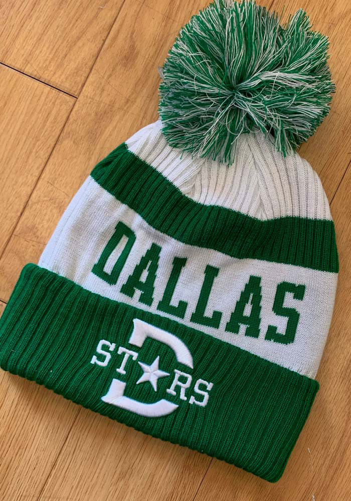 Dallas Stars Green 2020 Winter Classic ID Stadium Tee Womens Knit Hat - Image 3
