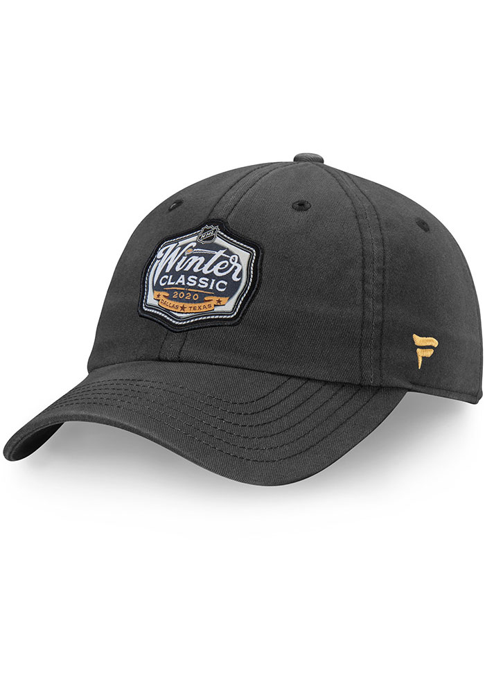 Dallas Stars 2020 Winter Classic Rinkside Adjustable Hat - Charcoal - Image 1