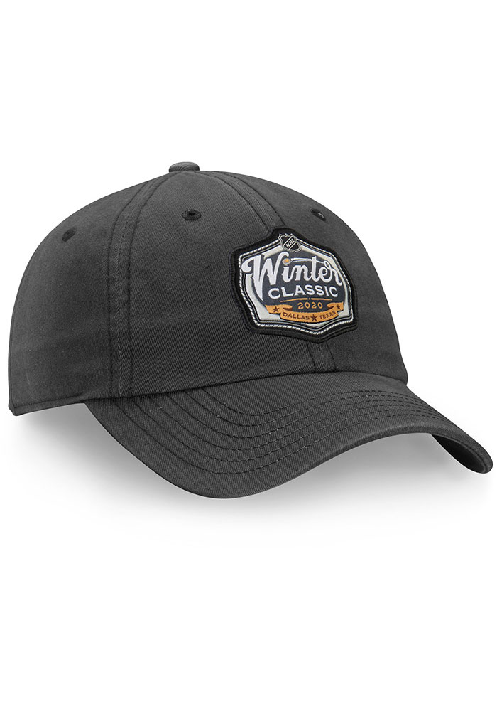 Dallas Stars 2020 Winter Classic Rinkside Adjustable Hat - Charcoal - Image 2