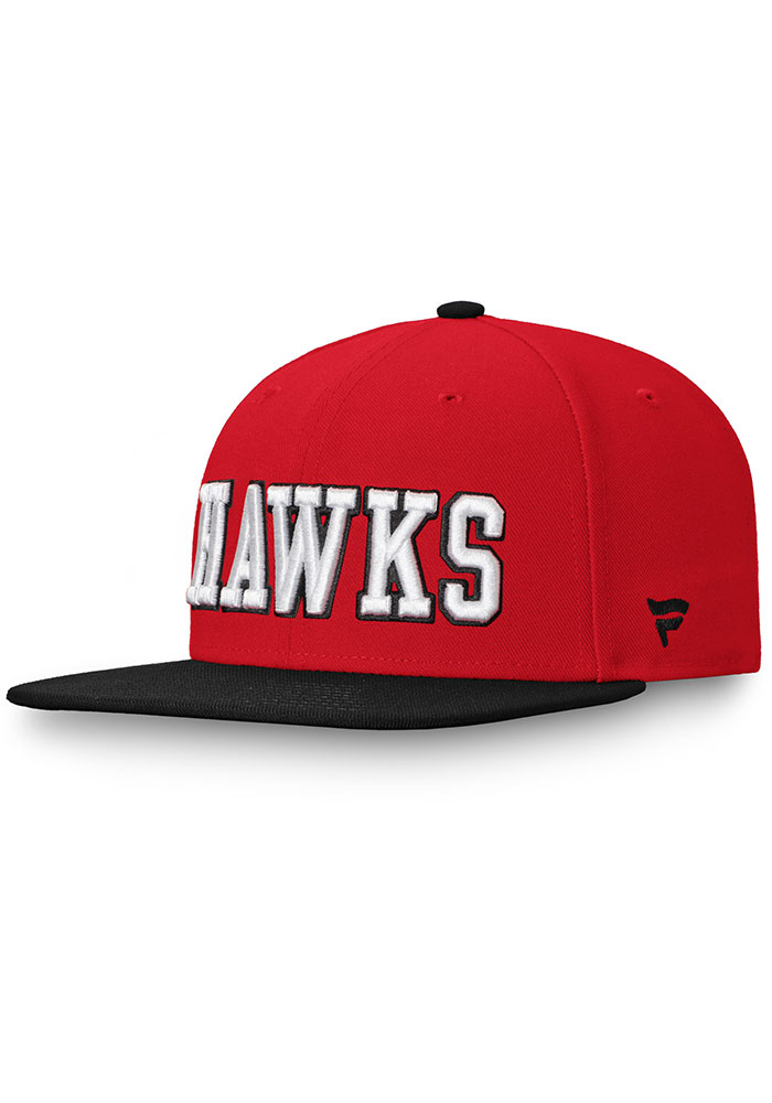Chicago Blackhawks Red Hometown Mens Snapback Hat - Image 1
