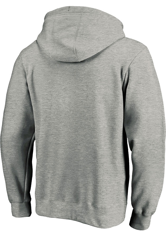 Kansas City Chiefs Mens Grey 2019 AFC Conference Champions Face Mask Long Sleeve Hoodie - Image 2