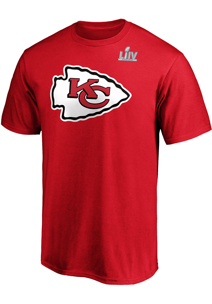 Tyreek Hill Kansas City Chiefs Red 2019 Super Bowl LIVParticipant Half Back Short Sleeve Player T Shirt - Image 2