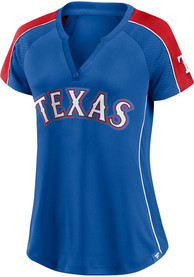 Texas Rangers Womens Diva Fashion Baseball - Blue