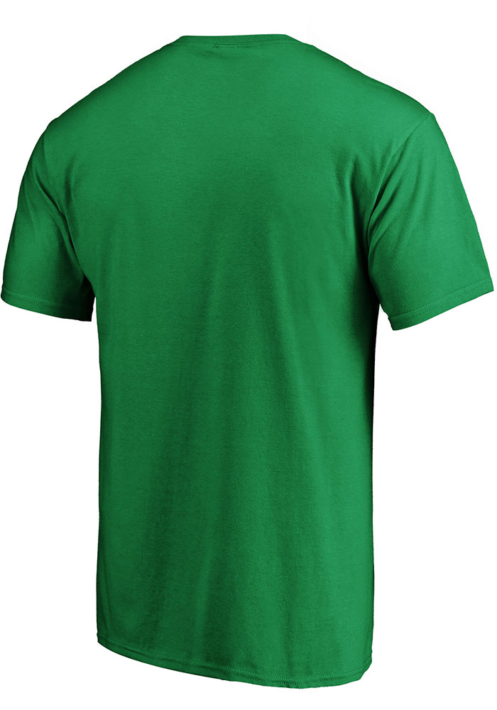 Dallas Stars Green Iconic Cotton Double Stack Short Sleeve T Shirt - Image 2