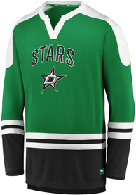 Dallas Stars Iconic Slapshot Fashion T Shirt - Green