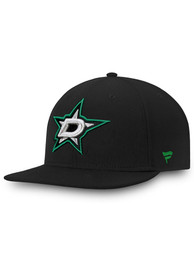 Dallas Stars Core Fitted Hat - Black