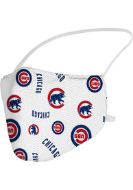 Chicago Cubs Sublimated Fan Mask - Blue