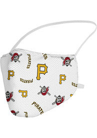 Pittsburgh Pirates Sublimated Fan Mask - Black