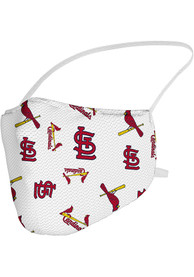 St Louis Cardinals Sublimated Fan Mask - Red