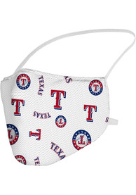 Texas Rangers Sublimated Fan Mask - Blue