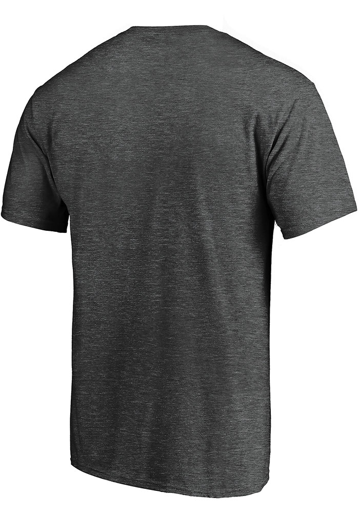 Dallas Stars Charcoal 2020 NHL Conference Final Participant Contender Short Sleeve T Shirt - Image 2