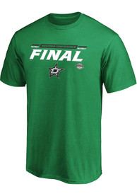 Dallas Stars 2020 NHL Conference Final Participant Overdrive T Shirt - Kelly Green