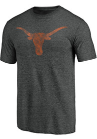 Texas Longhorns Classical Primary Fashion T Shirt - Charcoal