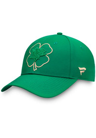 Pittsburgh Penguins St. Patricks Day Adjustable Hat - Green