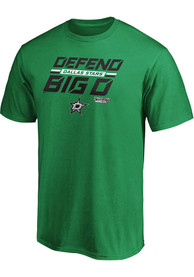 Dallas Stars Tilted Ice T Shirt - Kelly Green