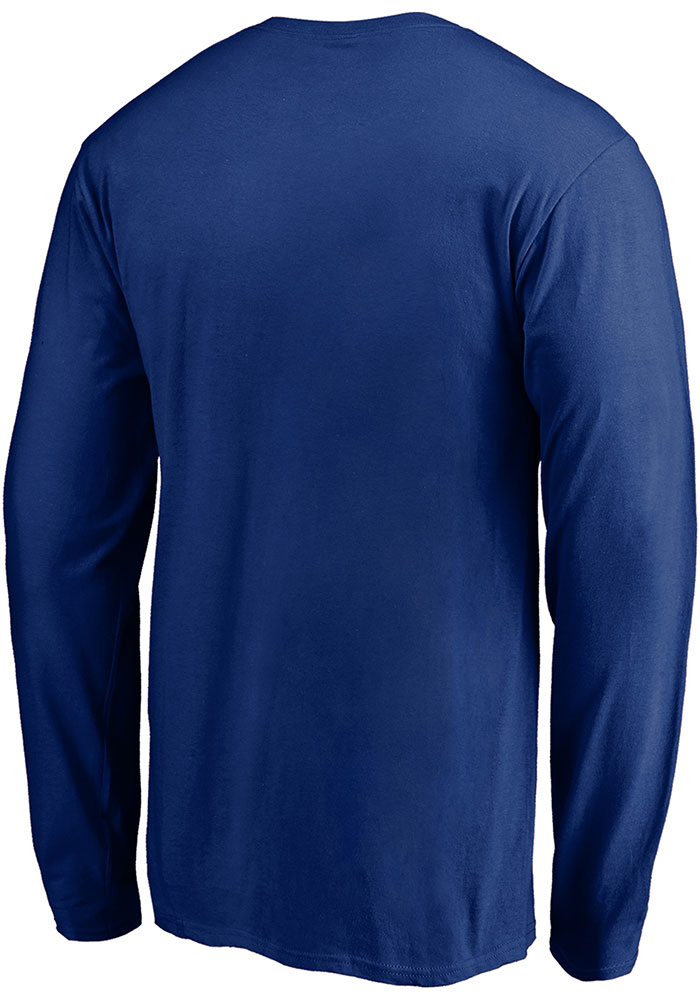 St Louis Blues Blue Crease 2019 Conference Final Long Sleeve T Shirt - Image 2