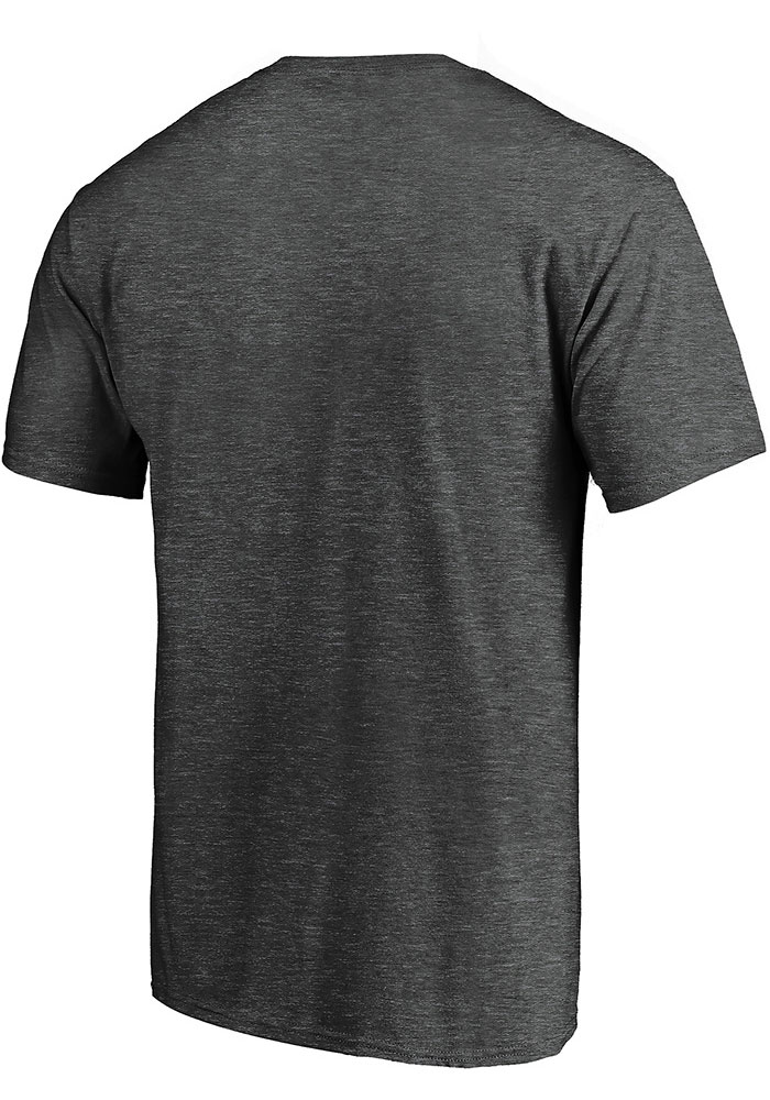 St Louis Blues Grey 2019 Conference Final Matchup Short Sleeve T Shirt - Image 2