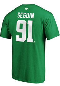 Tyler Seguin Dallas Stars 2020 Stanley Cup Final Participant Angle Play T-Shirt - Kelly Green
