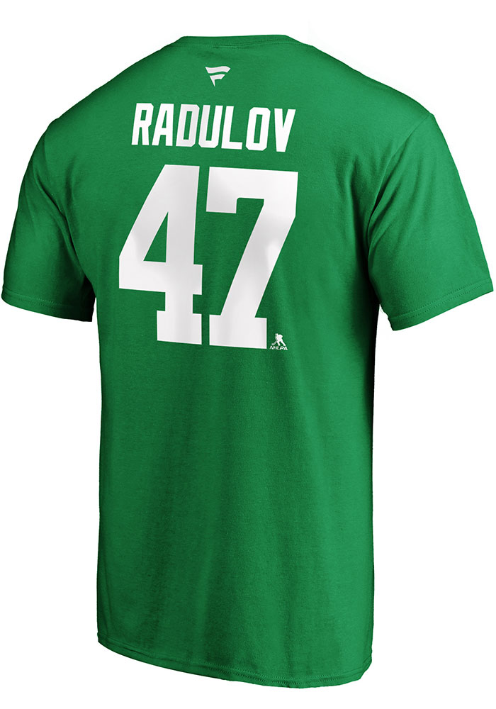 Alexander Radulov Dallas Stars Kelly Green 2020 Stanley Cup Final Participant Angle Play Short Sleeve Player T Shirt - Image 1