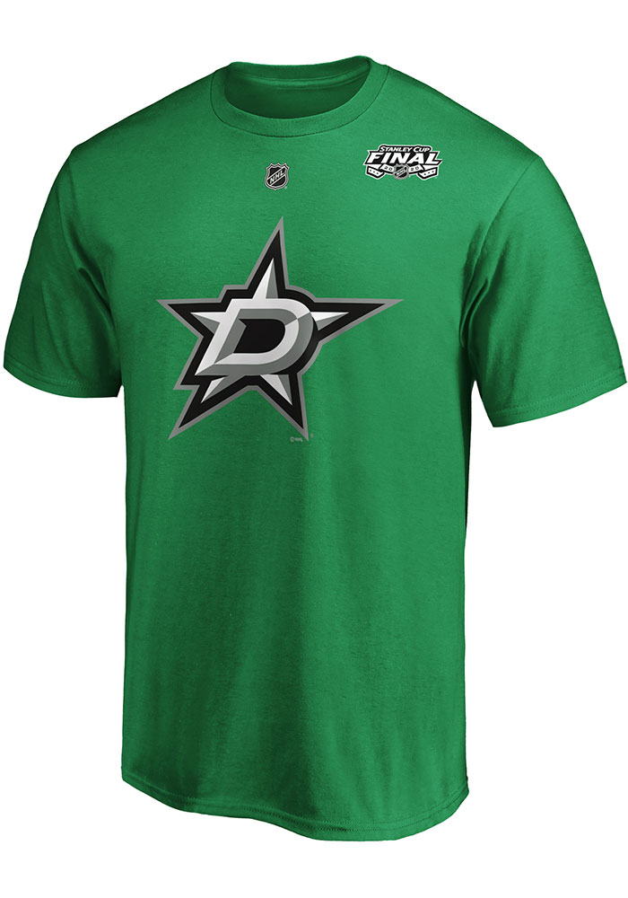 Alexander Radulov Dallas Stars Kelly Green 2020 Stanley Cup Final Participant Angle Play Short Sleeve Player T Shirt - Image 2