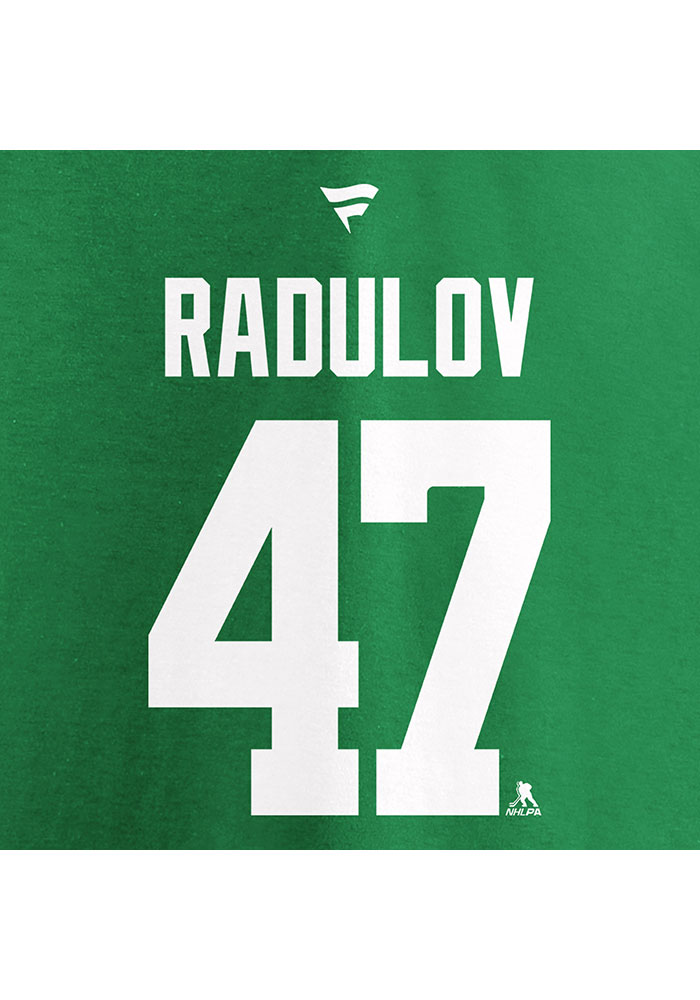 Alexander Radulov Dallas Stars Kelly Green 2020 Stanley Cup Final Participant Angle Play Short Sleeve Player T Shirt - Image 4