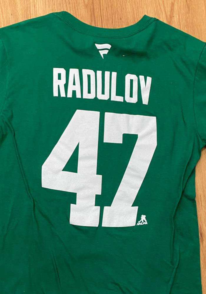 Alexander Radulov Dallas Stars Kelly Green 2020 Stanley Cup Final Participant Angle Play Short Sleeve Player T Shirt - Image 6