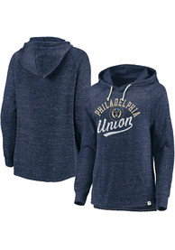 Philadelphia Union Womens Speckle Hooded Sweatshirt - Navy Blue