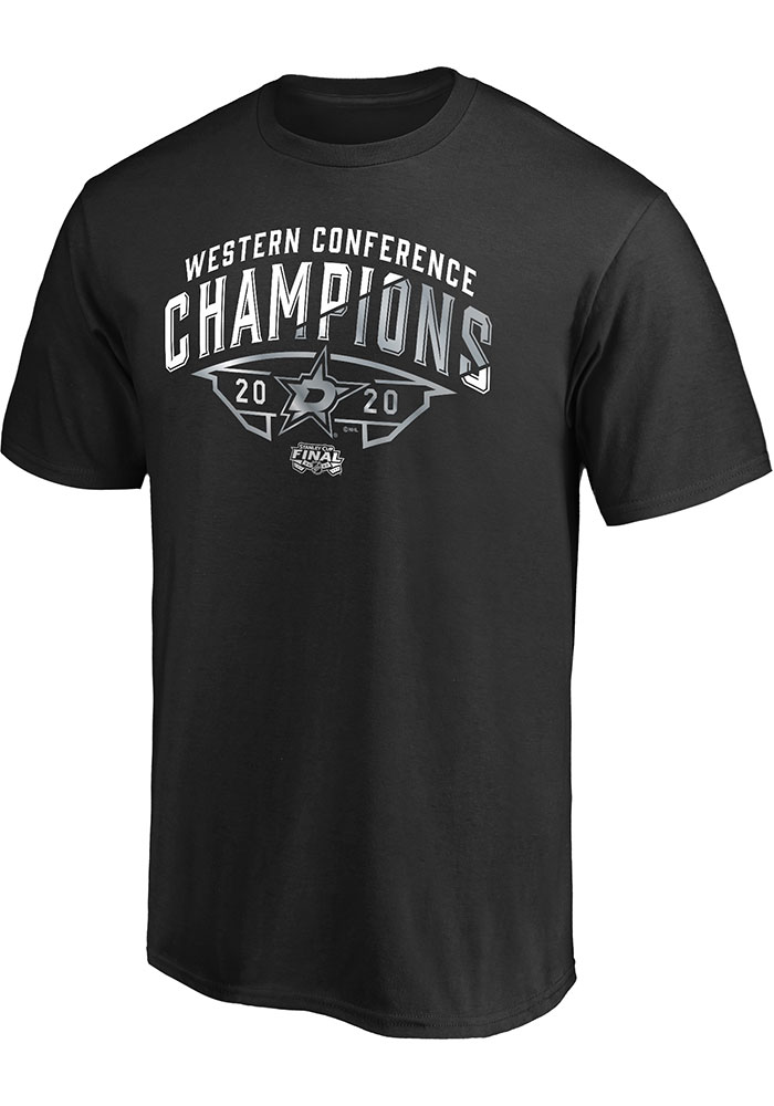 Dallas Stars 2020 NHL Conference Champs Winter Storm T Shirt - Black