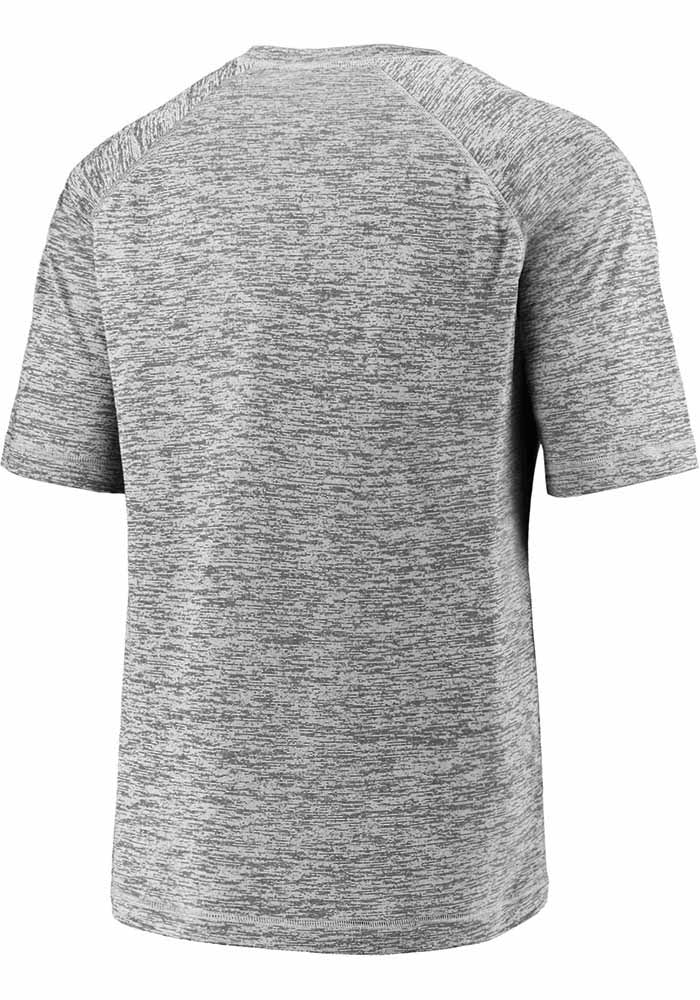 Dallas Stars Grey 2020 NHL Conference Champs Blue Line Short Sleeve T Shirt - Image 2