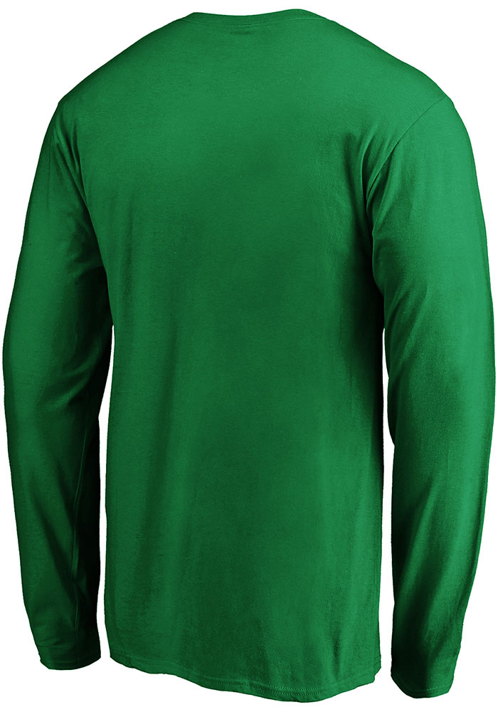 Dallas Stars Kelly Green 2020 Stanley Cup Final Participant We Want the Cup Long Sleeve T Shirt - Image 2