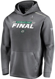 Dallas Stars 2020 Stanley Cup Final Participant Authentic Pro Rinkside Hood - Grey