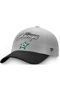 Dallas Stars Womens 2020 NHL Conference Champs Adjustable - Grey