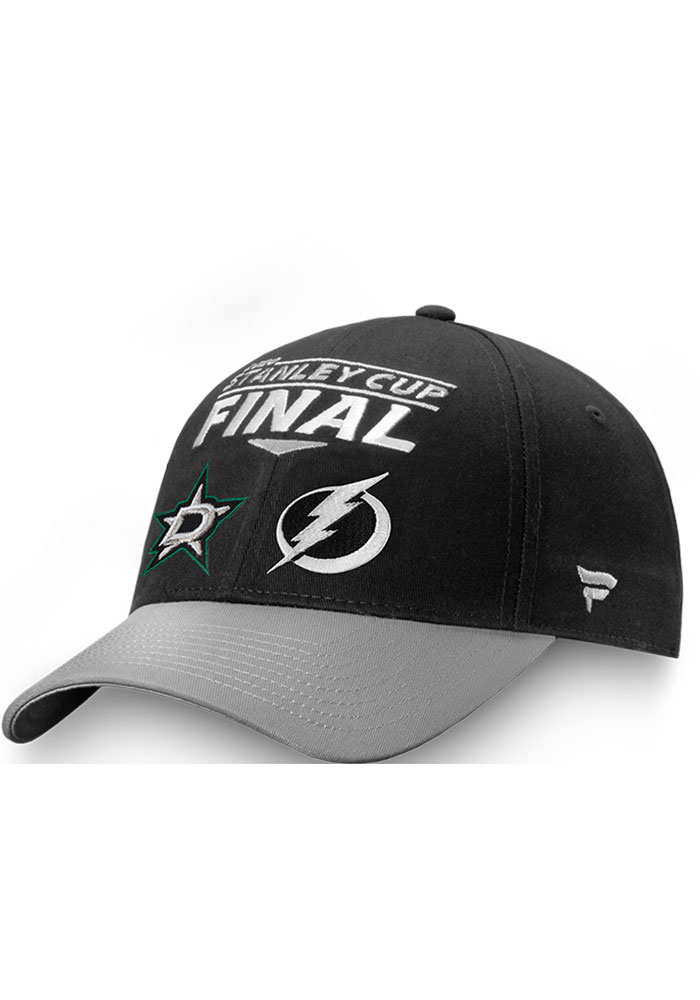 Dallas Stars 2020 Stanley Cup Final Participant Matchup Adjustable Hat - Black