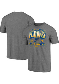 St Louis Blues Ring The Alarm Fashion T Shirt - Grey
