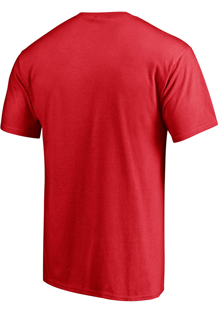 Dallas Stars Red Red White And Team Short Sleeve T Shirt - Image 2