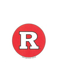 Rutgers Scarlet Knights 3 Inch Logo Button